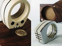 Bonehead ring/figure