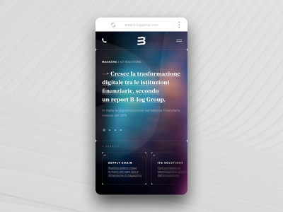 Institutional mobile UI sci-fi ux be color soft data experience digital minimal mobile app itc services magazine responsive ui mobile