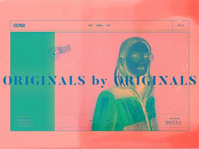 Colmar Originals Postcard pink collection kart bag ecommerce analogue kids woman man ss fw urban outfits apparel outfit originals colmar