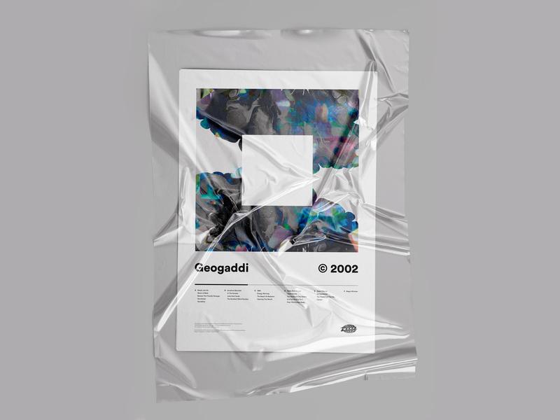Boards of Canada - Geogaddi ©2002 branding plastic swiss design idm glitch abstract artwork music record warp electronic boc poster geogaddi boards of canada
