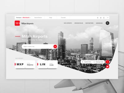 Milan Airports ✈ Home