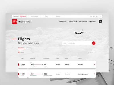 Milan Airports ✈ Flights