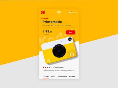 Kodak - concept