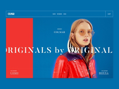 COLMAR Originals by Originals shop commerce abstract minimal apparel design woman man landing outfit ski fashion sport apparel