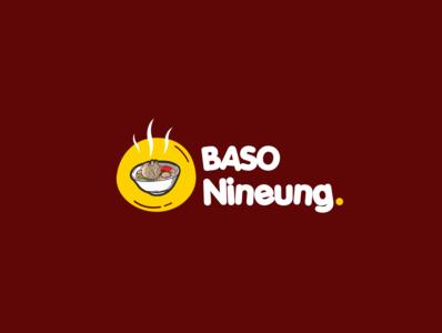Bakso Logo type logo branding animation illustrator flat art vector illustration design