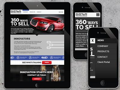 Sister Re-design(killed) design web design web digital design responsive design responsive html css branding