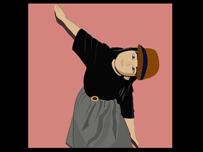 Cartoon effect illustration vector illustration