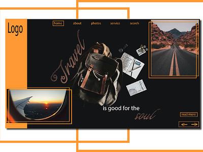 webpage banner web banner webdesign ux design