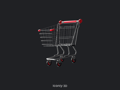 Iconly 3D Collection notebook shopping basket winner cup water pistol key business bag 3d cinema4d c4d design 3dmotion animation dark motion graphics icons illustration graphic design ae