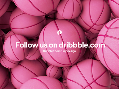 Iconly 3D | Dribbble balloon dribbble logo pink basketball ball cinema4d c4d design 3dmotion animation logo dribbble illustration illus icons graphic design ae