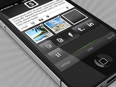 Social App social iphone lyan moblio