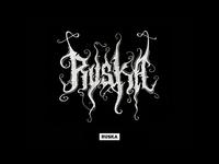 Ruska Black Metal Logo