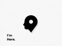 People Map Pin Logo