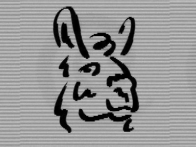 Llama illustration texture line llama