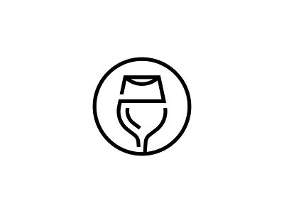 Drinks icon geometry line illustration spirits wine beer