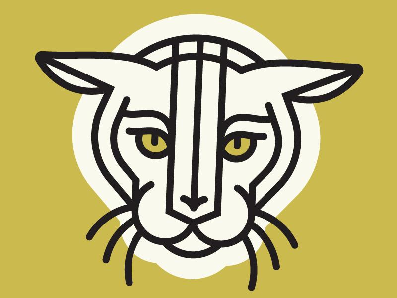 Cat III arrow eyes gold shape line cat