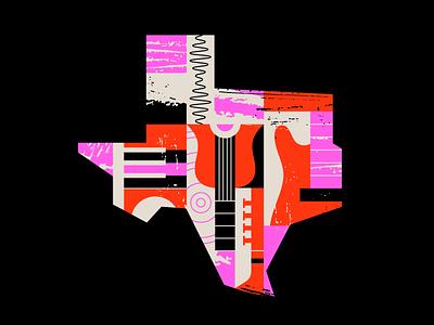 TX Tunes shape line texture sound instrument radio music tunes tx texas