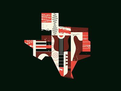 TX Tunes II tx tunes state texture texas sound shape radio music line instrument