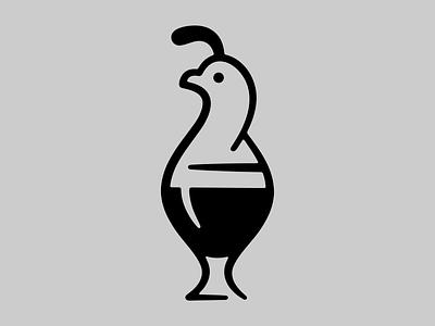 Bob White geometric line craft brewery brewery beer bird cocktail quail bob white