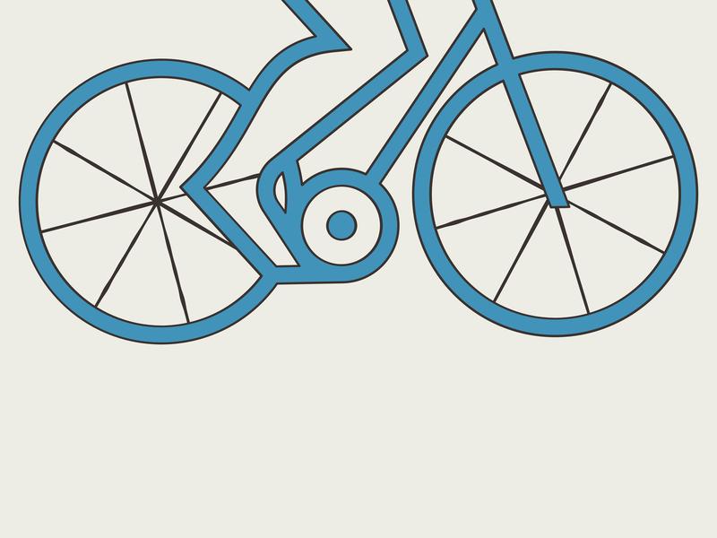 Bike geometry line pedal leg spoke wheel ride bicycle bike
