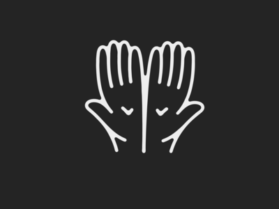 Hands illustration line need charity giving hands