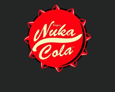 Nuka Cola branding vector drawing digitalart design artwork corel draw adobe ilustrator adobe photoshop coca-cola nucacola