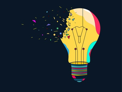 Lamp magic ilustration multicolor lamp adobe photoshop adobe illustrator coreldraw
