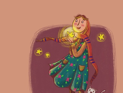Ayeh13 quran illustration procreate ipad magazine single frame illustrator book illustration