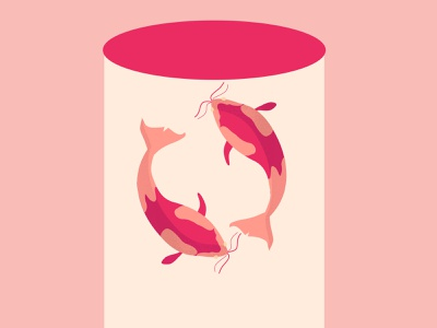 abducted fish digitalartwork digitalarts digitalartists dribbble digitalartist digital art digital drawing digitalart graphicdesign digital painting digital illustration flat vector girl character girl illustration minimal illustrator illustration design