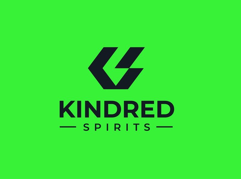 Kindred logo ui flat graphic logo unique logo design logo design minimal branding graphic design