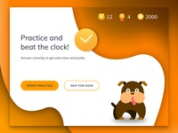 Start Practice Screen