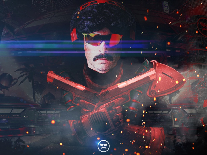 DrDisRespect x Rogue Company | Free Wallpapers 🙌 downtown freebies wallpaper design wallpaper poster design poster art video games video game gaming graphic design art youtube