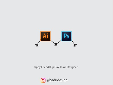 Happy Friendship Day 2020 marketing vector logo photoshop illustration minimal advertising graphicdesign design branding