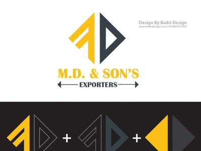 MD Logo Design designer logodesign illustration advertising graphicdesign branding design logomarks logopassion logomark logotypes
