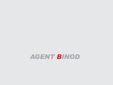 Agent Binod photoshop vector logo minimal advertising illustration graphicdesign marketing design post trend trending post trending design