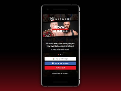 Wwe network sign up