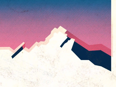 Boulder, CO Gowalla City Guide Postcard alan defibaugh gowalla boulder colorado vector texture mountains