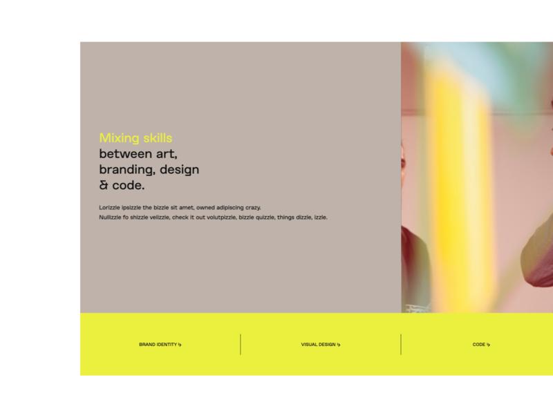 Webflow showcased project 03 webflowdeveloper webflowdesigner typography micro interaction animation layout webflow