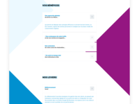 WIP for a B2B SEO and SEA agency figma ui design layoutdesign webdesign seo agency sea b2b