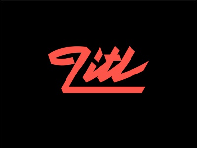 Lettering Litl webdesigner graphiste logotype design logotype logo custom lettering hand lettering logo hand lettering lettering