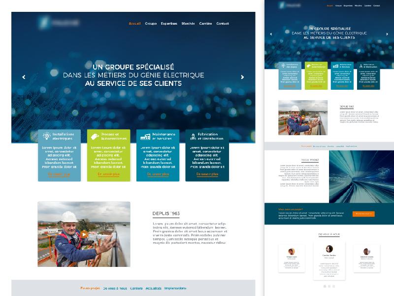 Webdesign ui design webdesign