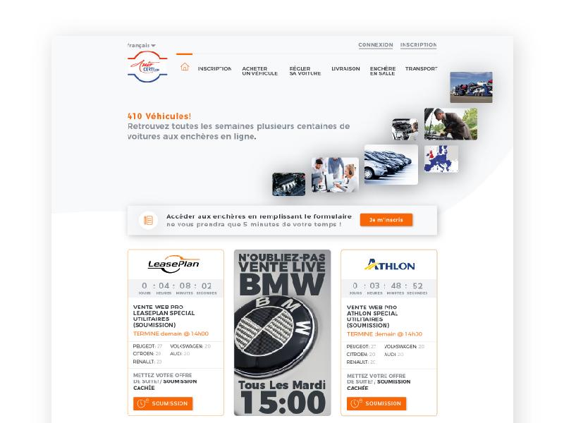 My last webdesign project freelance webdesigner graphiste webdesign ui  design