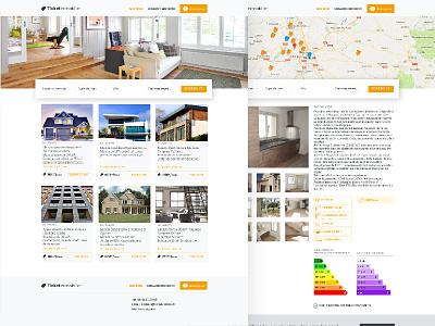 Mon dernier projet de webdesign webdesigner graphiste uidesign webdesign immobilier