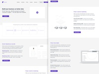 Clearbit Redesign - Wireframe in the making