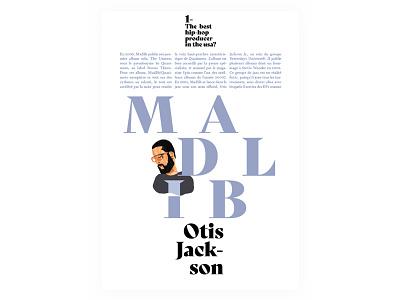 Layout hip hop madlib typography fonts print layout print