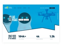 Ces Header Webdsite redesign