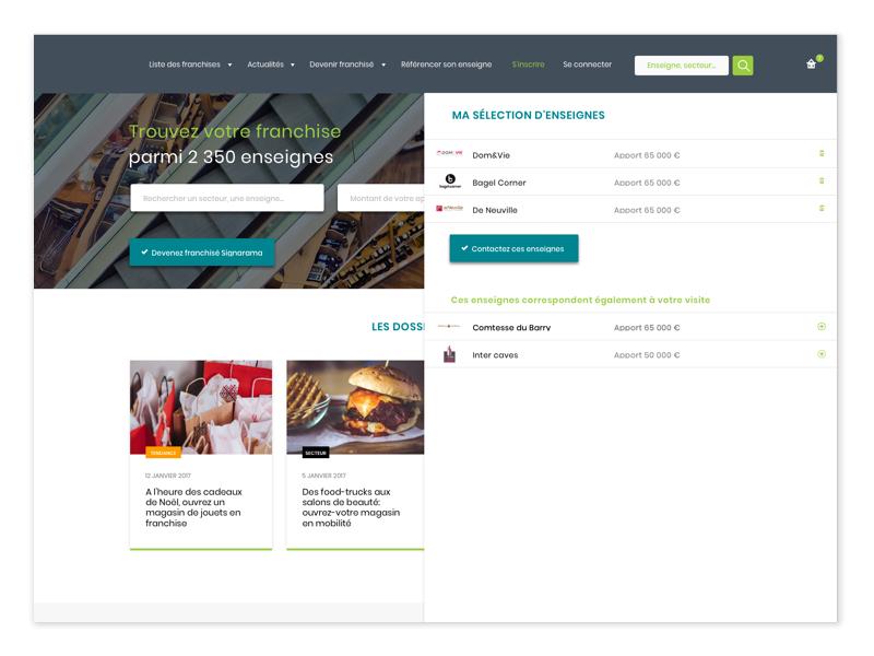 Past project graphiste webdesigner user-interface-design user-interface ui-design ui responsive-design responsive