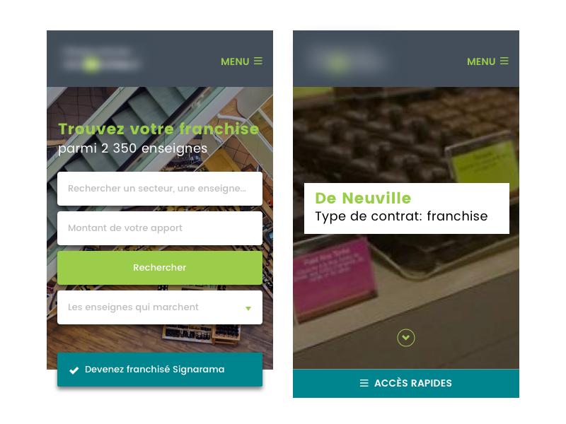 Mobile Design sketch graphiste webdesigner responsive-webdesign responsive mobile-design mobile