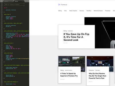 Dribbble To Html And Css responsive-design responsive ui-design flexbox css3 html5 bem front-end-development developer front-end