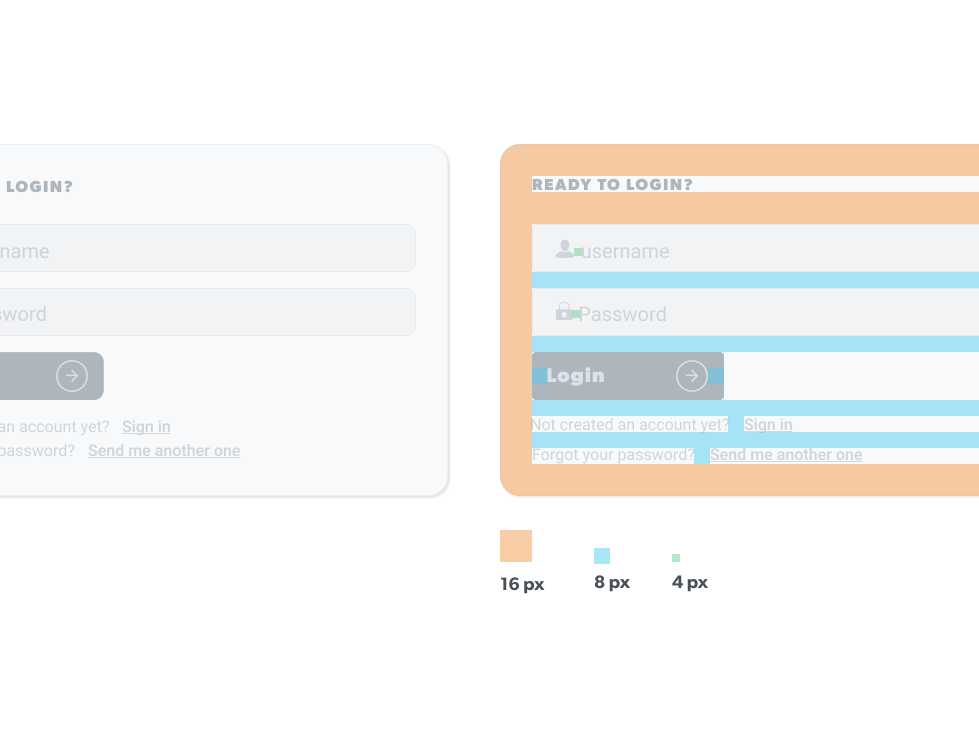 Login Form with 📐 uidesigner webdesigner graphiste login form user interface user interface design ui